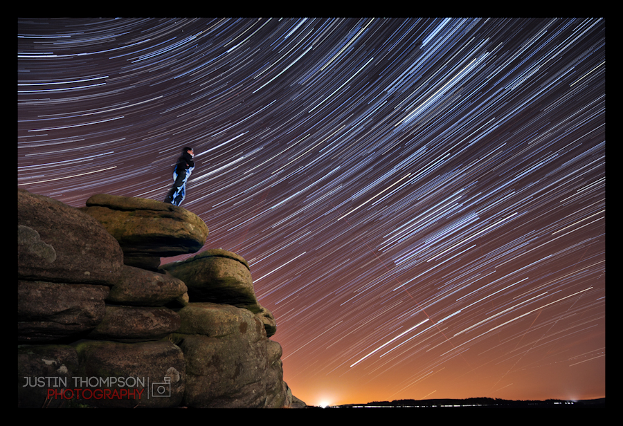 Star Trails over the Peak District